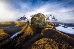 DeuxEtDemi Deux Et Demi Deux&Demi Deux & Demi Bivouac sphère boule Islande