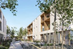 DeuxEtDemi Deux Et Demi Deux&Demi Deux & Demi logements structure bois